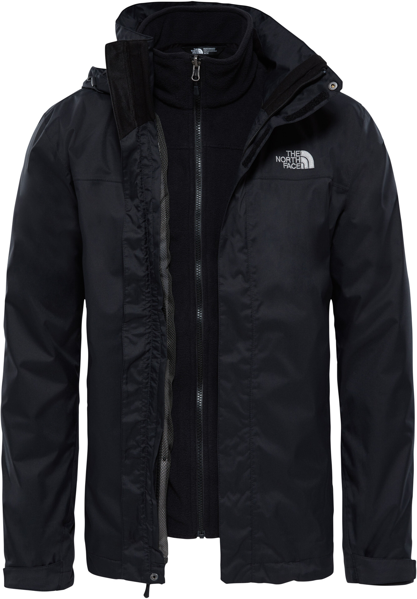 c0d10176bf ... norway the north face evolve ii triclimate veste homme noir 4f215 0279f
